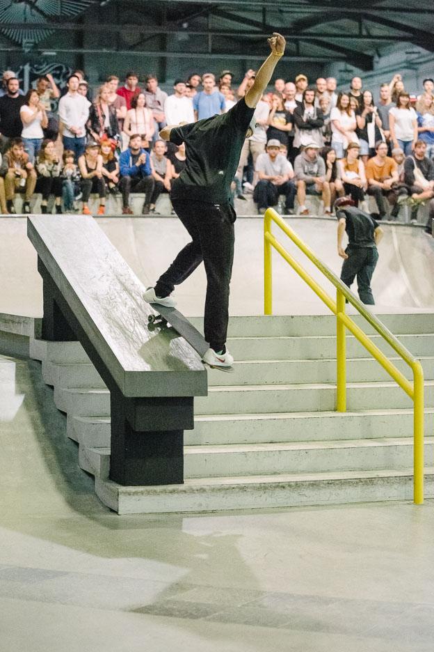 Carlos Ribiero, sw. bs smith grind.