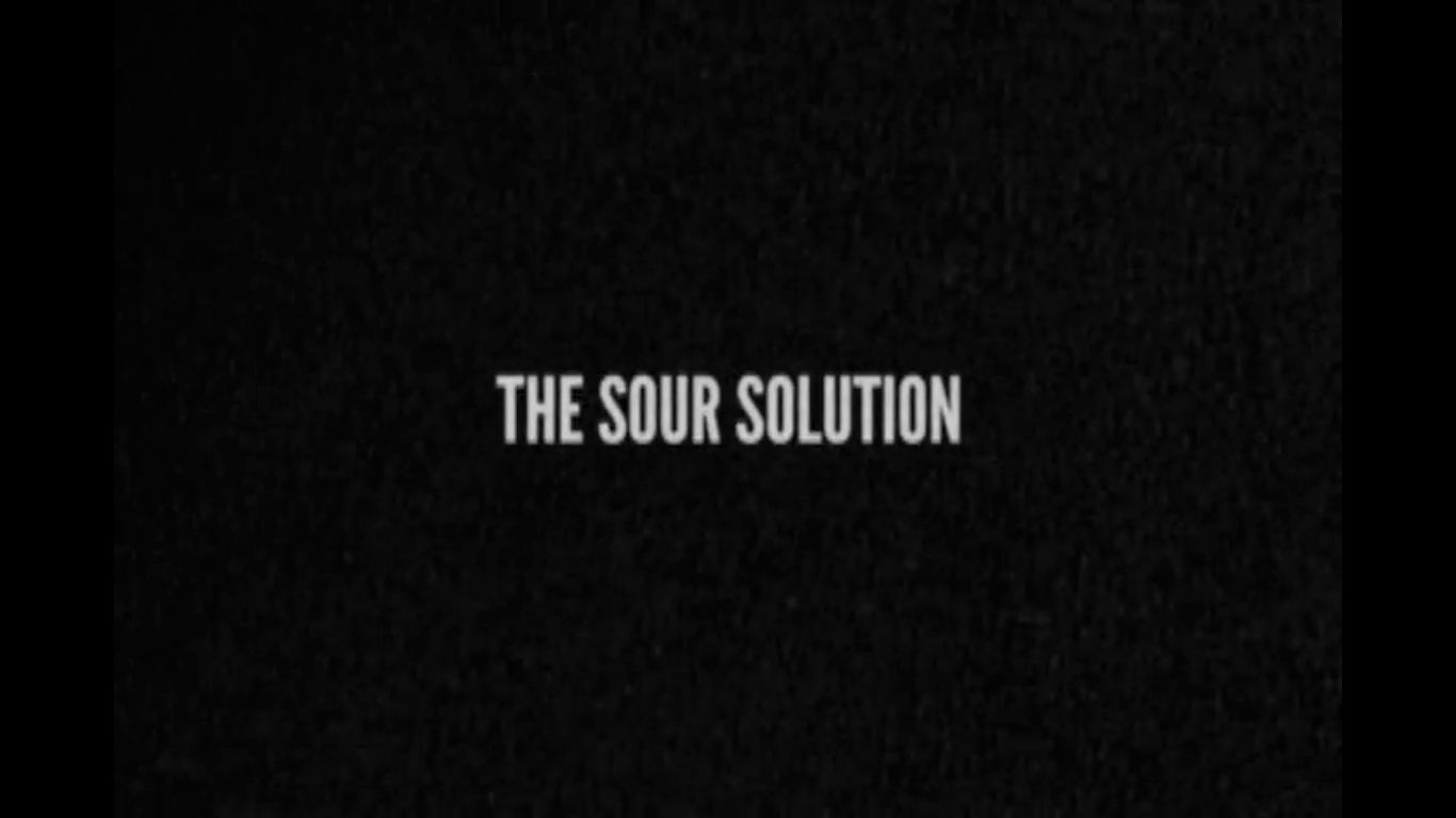 The Sour Solution
