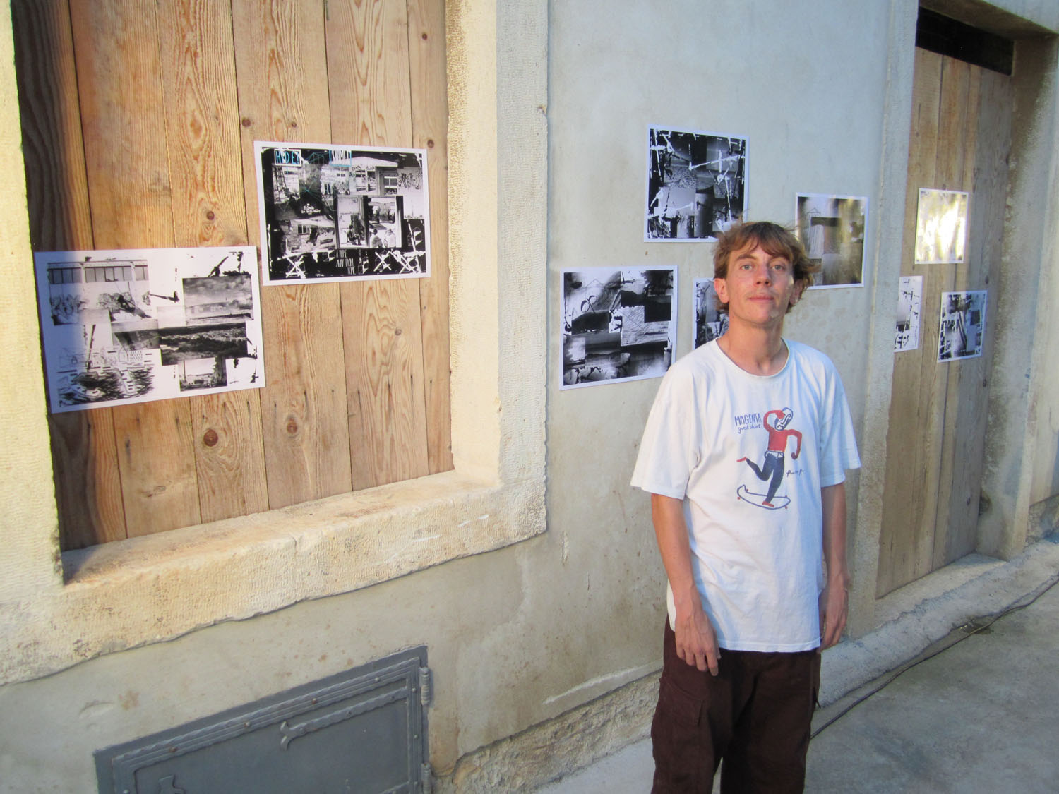 Aymeric Nocus photo exhibition @ Vladimir Film Festival 2015. Ph. : Will Harmon / Free Skate Mag