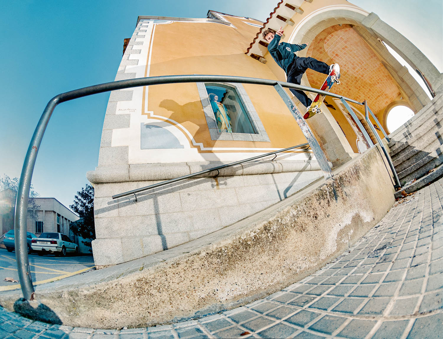 POL CATENA fs lipslide Rail Church BO
