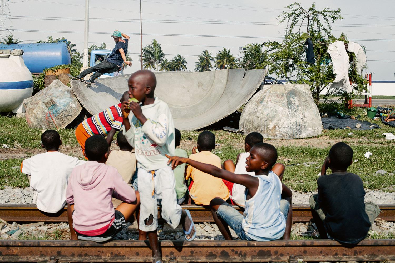 Michi frontside rocknroll Abidjan Ivory Coast Dcmyk