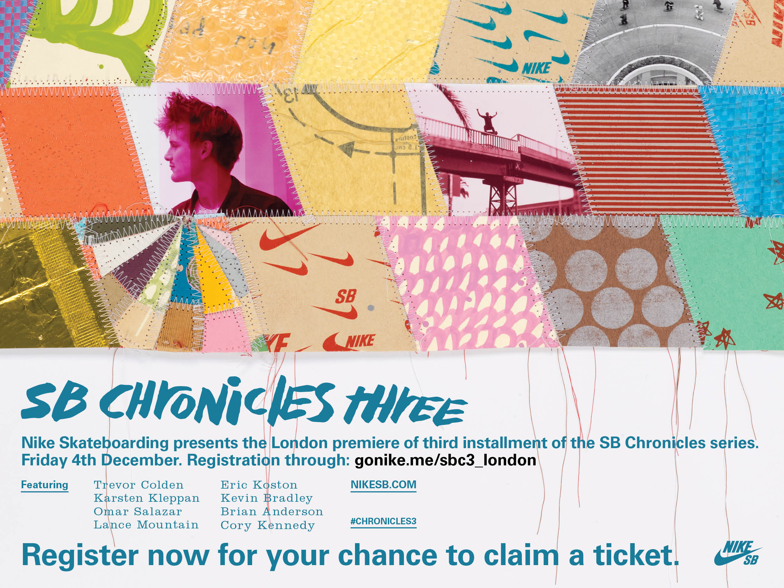 Free Skate Magazine » Nike SB Chronicles 3 London Premiere